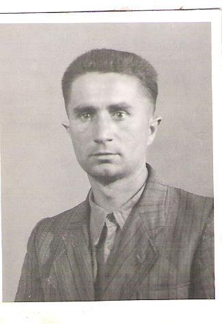 Юліан Войтович після звільнення з табору