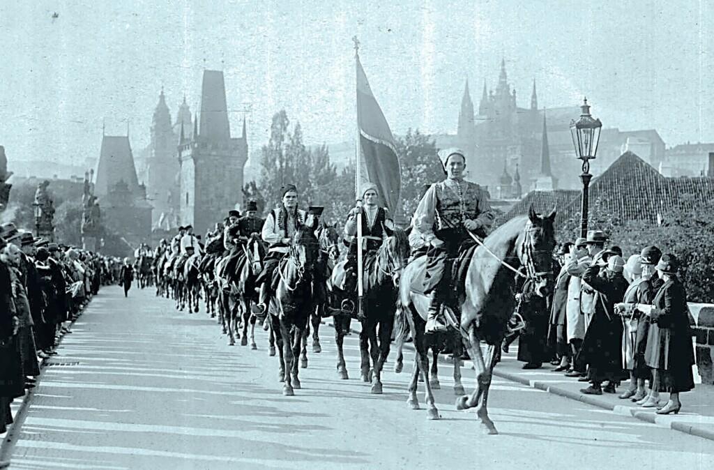 Дмитро Климпуш та Січ на Карловому мості у Празі 1935