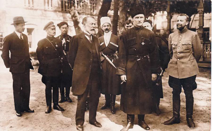 Федір Лизогуб і Павло Скоропадський